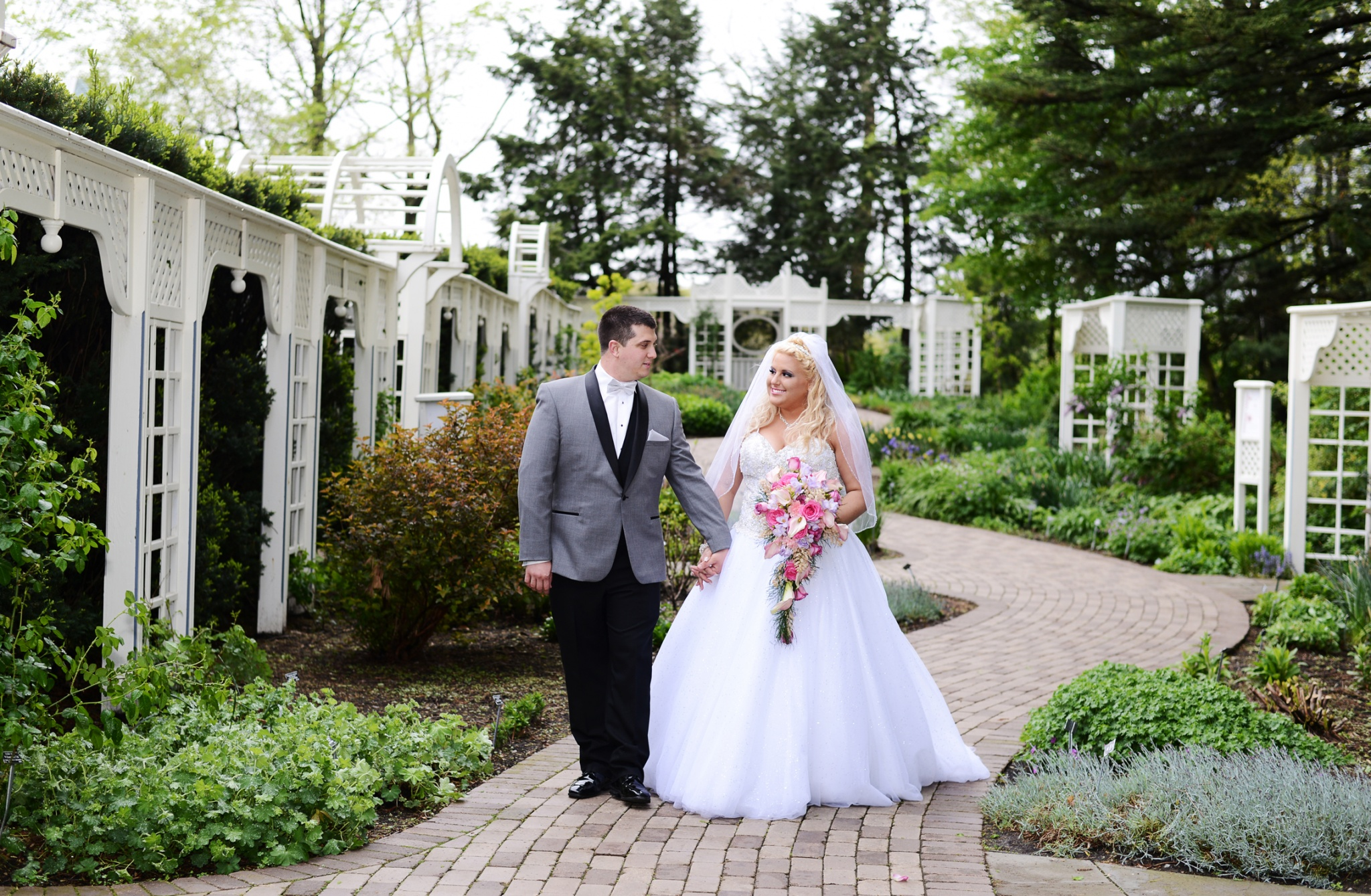 Ashley & Nick | Wedding | Our Lady of the Holy Rosary Church | Lowellvielle, OH |  Poland Fire District, Station 93 | Mill Creek Park | Fellows Riverside Gardens | Mahoning Country Club | Youngstown Wedding Photographer