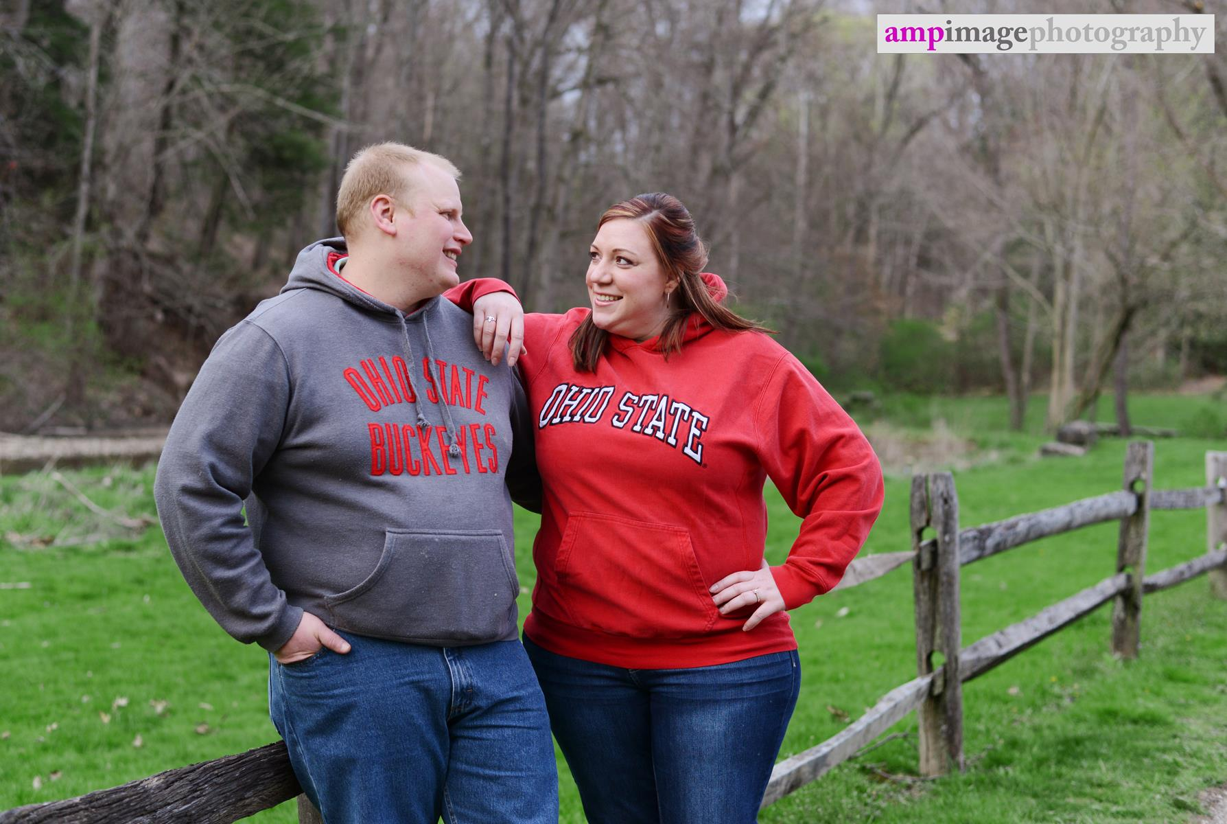 Crystal & Nick | Engagement Session | Mill Creek Park | Fellows Riverside Gardens | Lily Pond | Youngstown, OH | Youngstown Wedding Photographer