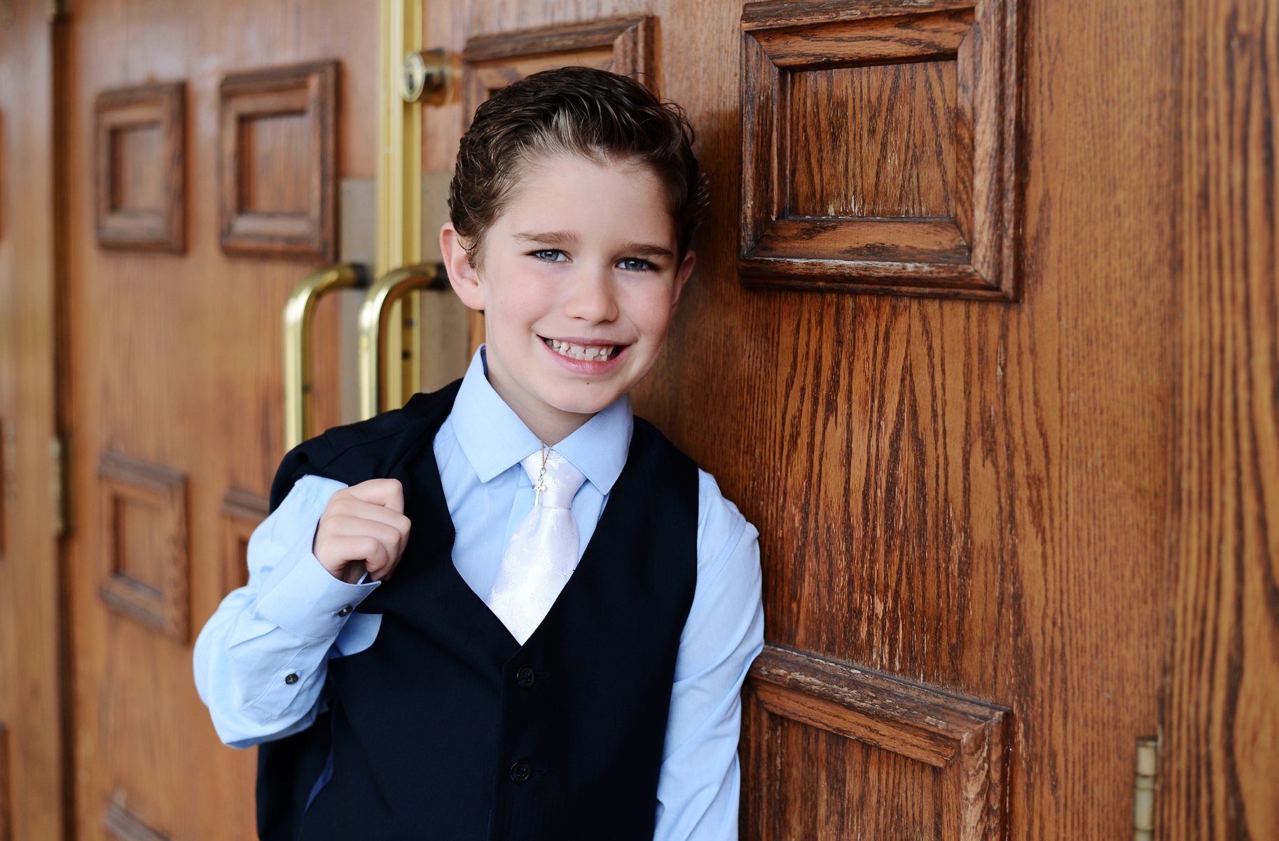 Vaughn | First Holy Communion | St. Christine's Parish | Youngstown, OH | Youngstown Photographer