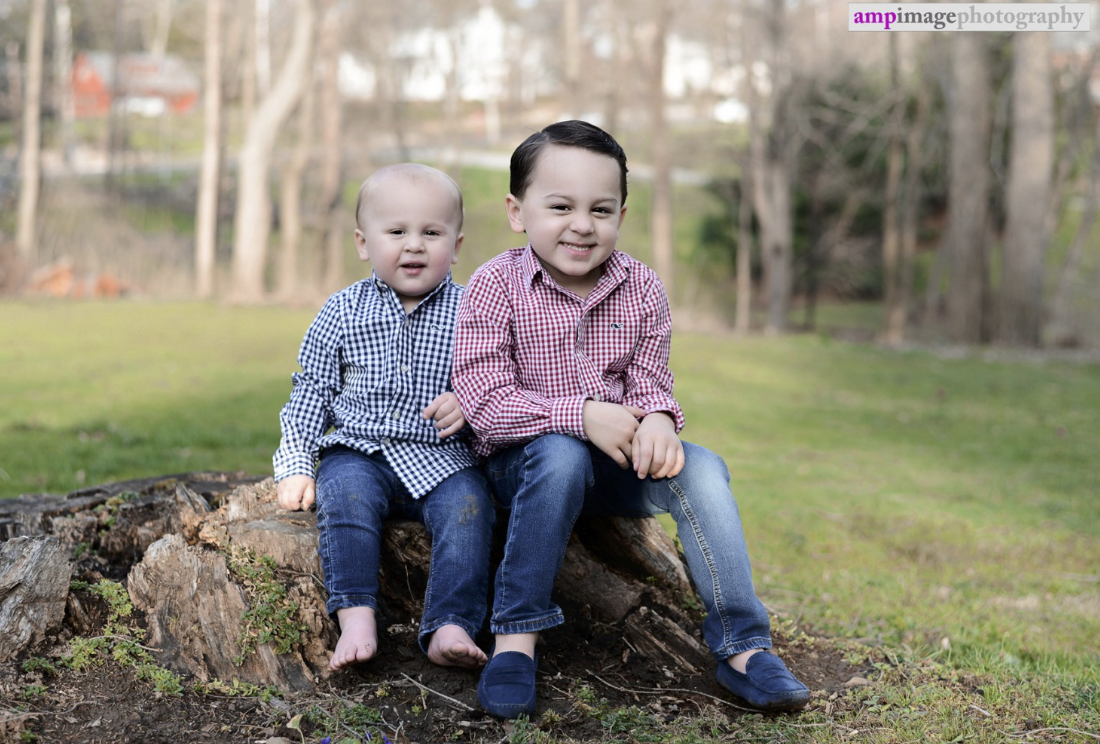 Parker & Preston | Easter Session | Birthday Session | Poland Town Village | Poland, OH | Youngstown Photographer