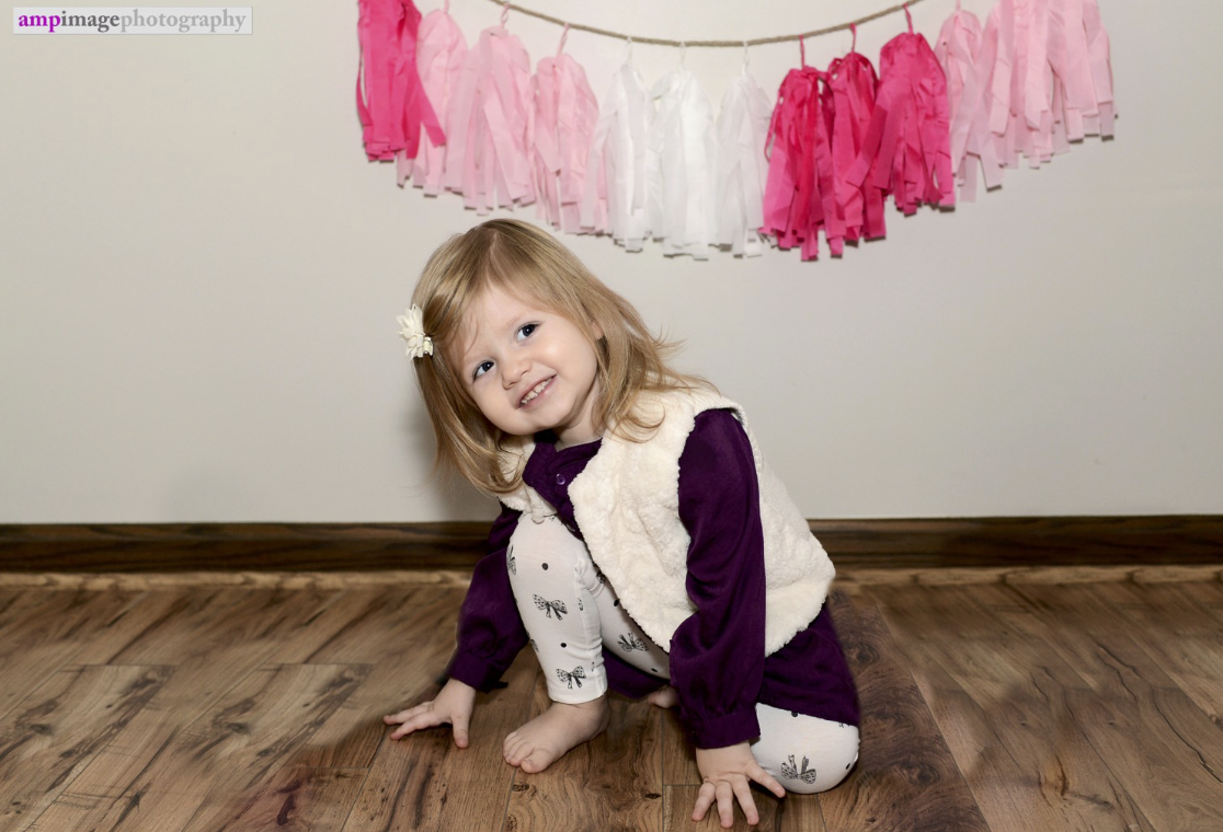 Hadley ~ 2 Years Old | At Home Portrait Session | Warren, OH | Youngstown Portrait Photographer