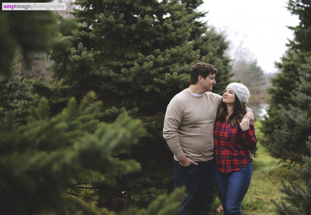 Maddie & Eric | Engagement Session | Tree Farm Engagement Photos | Canfield, OH | Youngstown Photographer