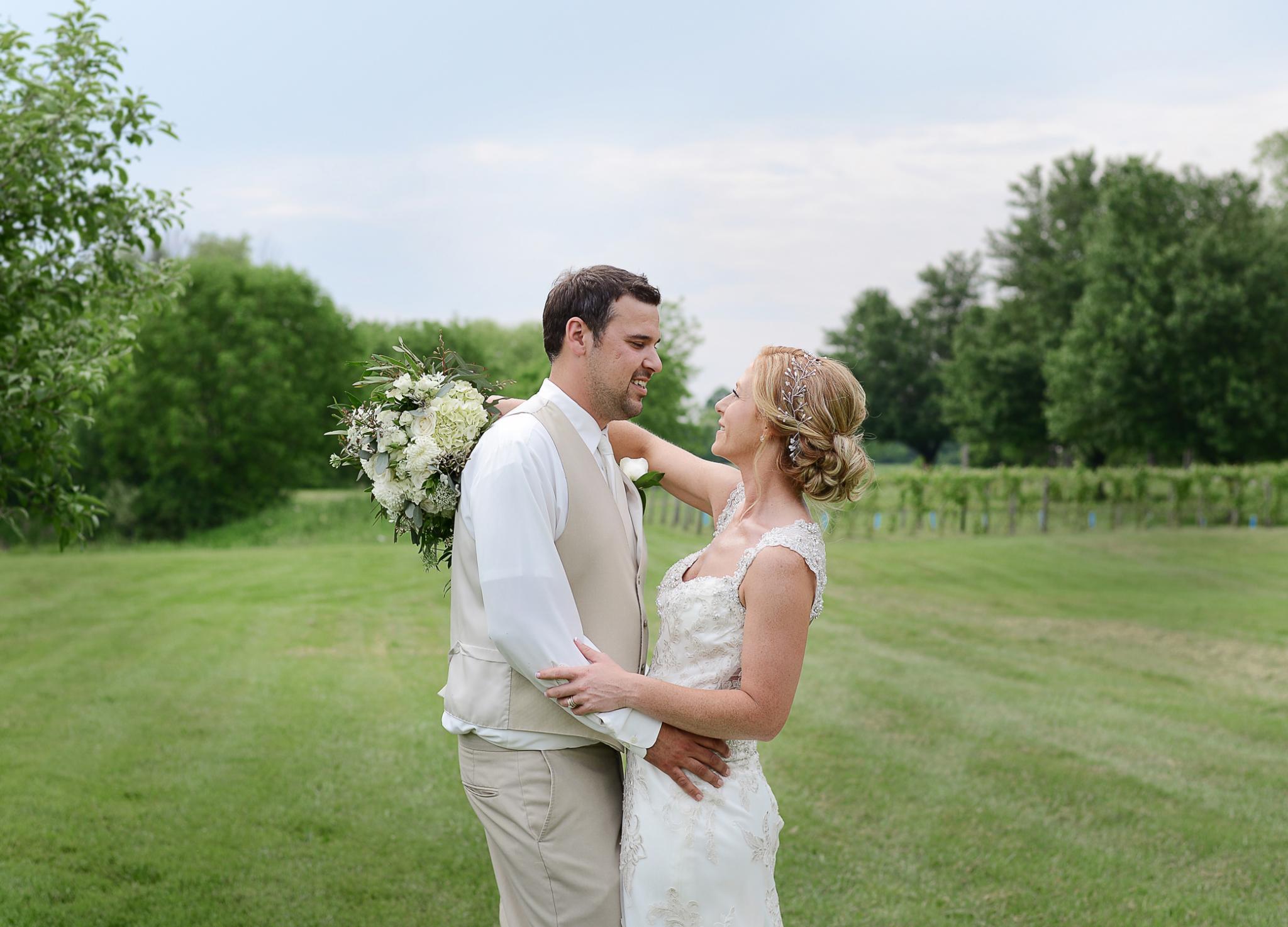 Brittneey & David | Wedding | SNPJ Recreation Center | Youngstown Wedding Photographer