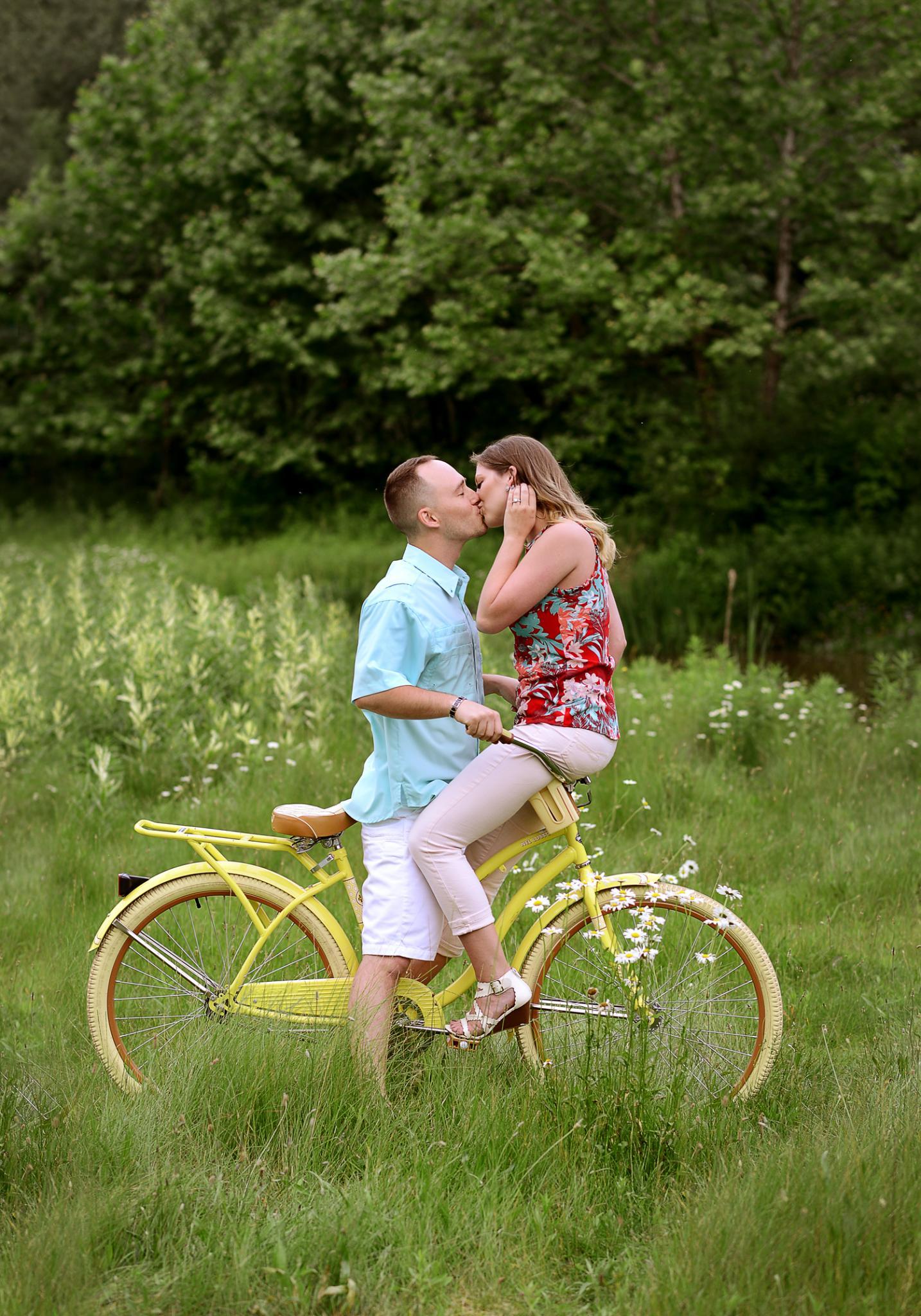 Danielle & Logan | Engagement Session Mill Creek Park | Cinderella Bridge | Lake Newport Wetlands | Youngstown Wedding Photographer