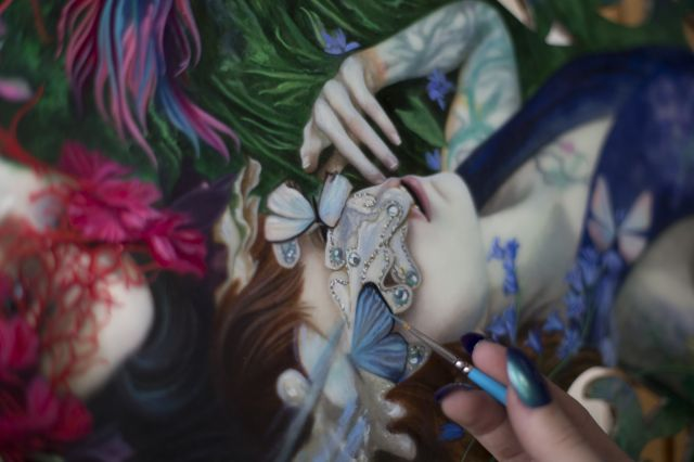 """Lush"" at beinArt Preview"