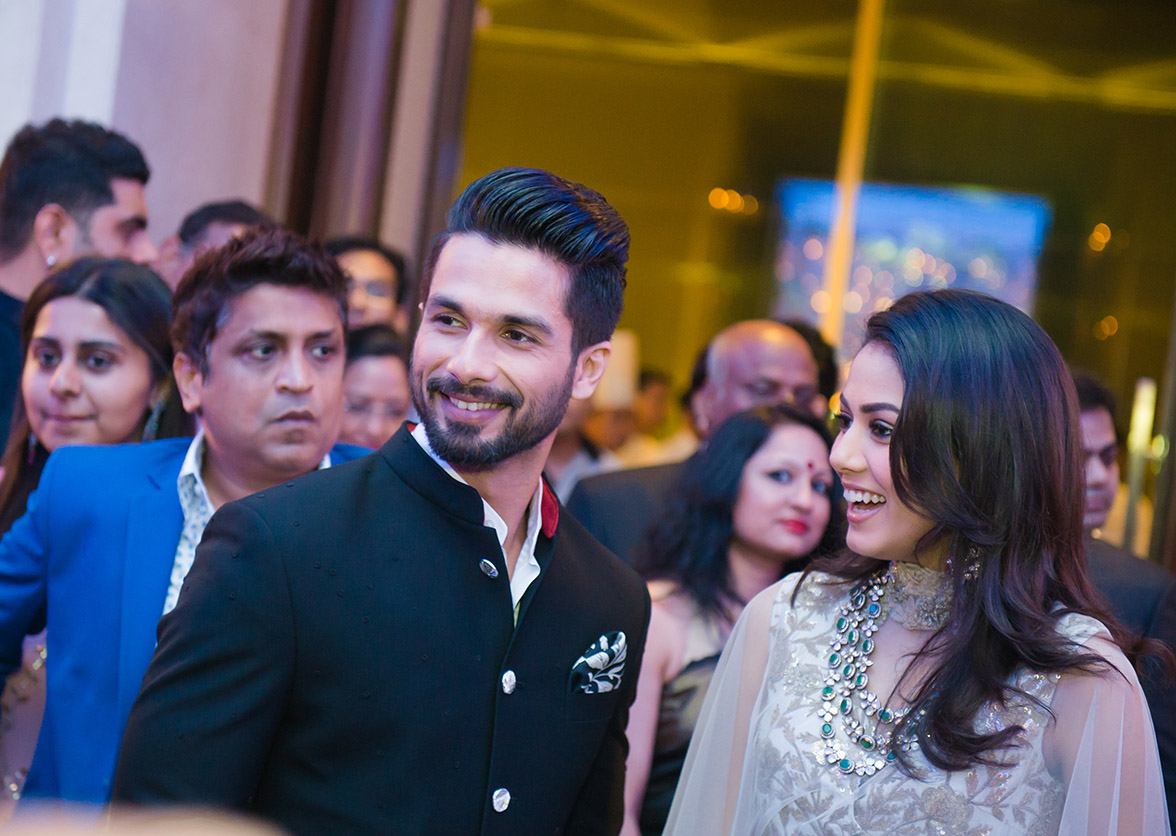 Shahid Kapoor and Mira Rajput - Wedding of the year
