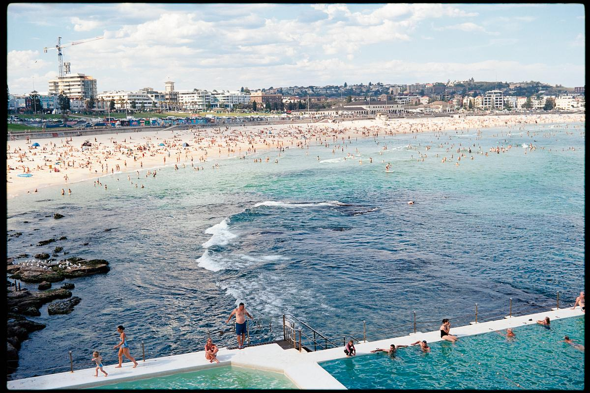 Bondi Beach on Ektar 100