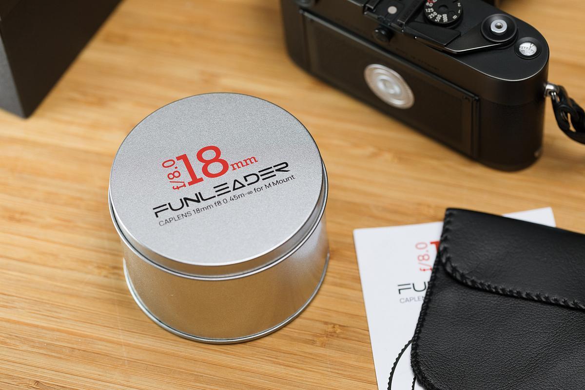 Funleader CAPLENS 18mm for M Mount