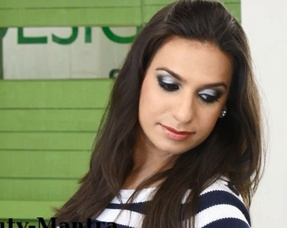Black & Grey Smokey Eyes