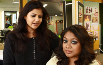 Party makeup for dusky beauties..