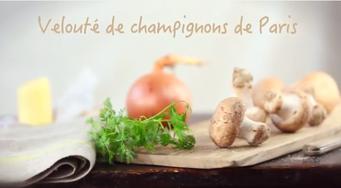 Velouté de champignons de Paris