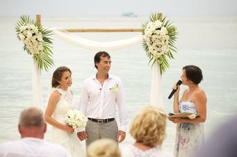 Nat & Toby wedding on Ko Tao Thailand