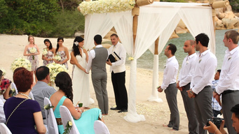 Emily & Sam wedding at Silavadee Pool Spa