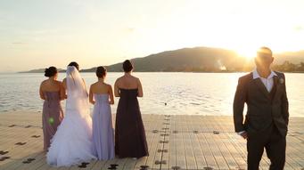Le Meridien samui Wedding A&M