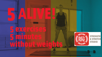 """Bien-Aimé's """"5 ALIVE Without Weights"""" Exercise Video"""