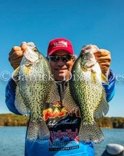 Crappie Fishing: Dock Skipping Strike King Baits