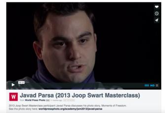 Javad Parsa (2013 Joop Swart Masterclass)