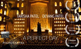Devang and Tarisha's Royal Wedding in Udaipur : A Perfect Day