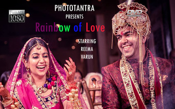 Rainbow of Love: Reema and Varun's Gorgeous Wedding in Delhi