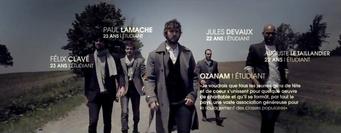 Société Saint-Vincent de Paul, Maison de production : Jet Films, Réalisateur : Mathieu Grimard, Styliste : Virginie Bégin