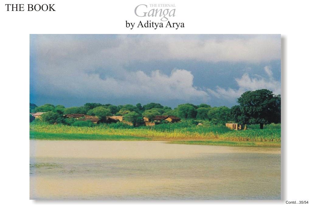 Sitabdiara in Bihar inundated by the overflowing Ganga.