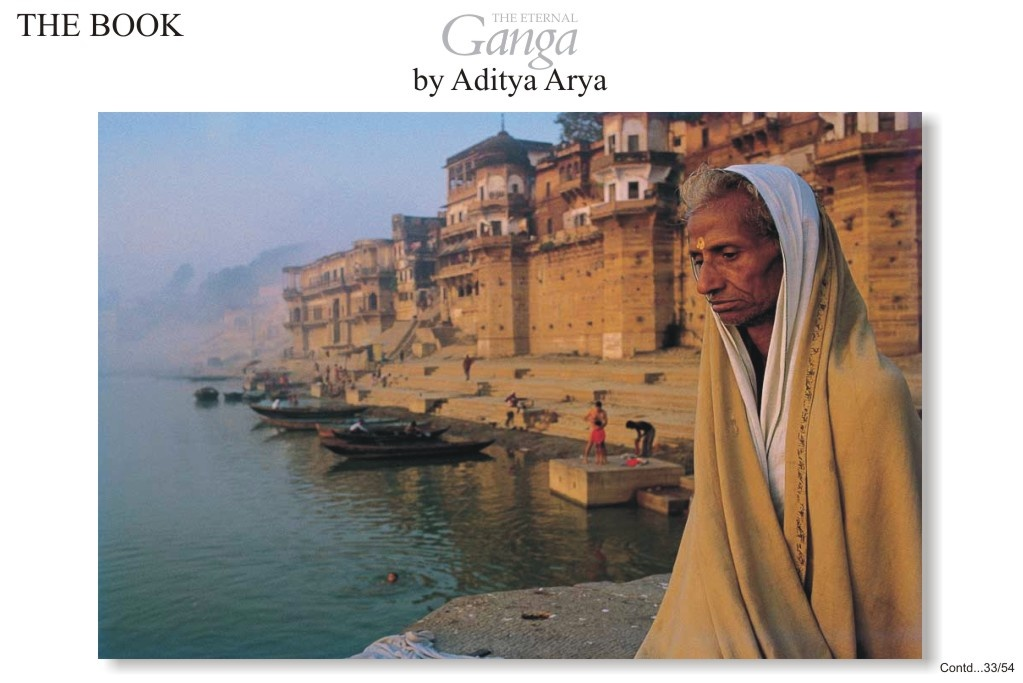 There are seventy odd ghats along with the Ganga at Varanasi, and most of them were built in the eighteenth century.