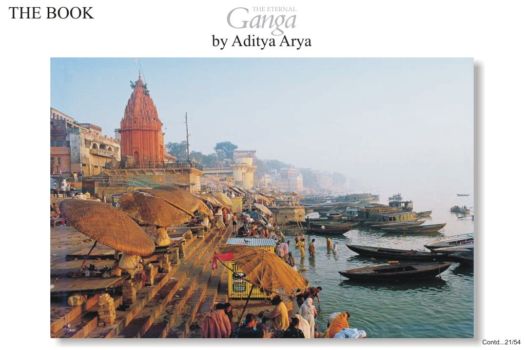 Of all the cities located on the banks of the Ganga, it is Varanasi which is perhaps the holiest an the oldest .