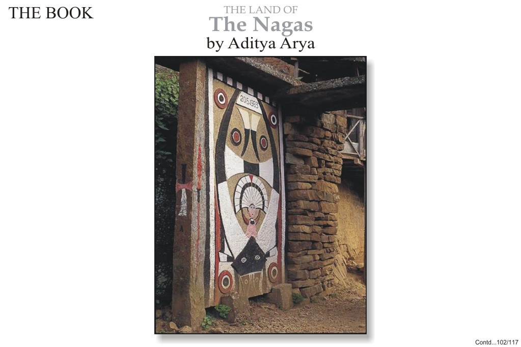 A painted stone gate of the Merhema khel of Khonoma.