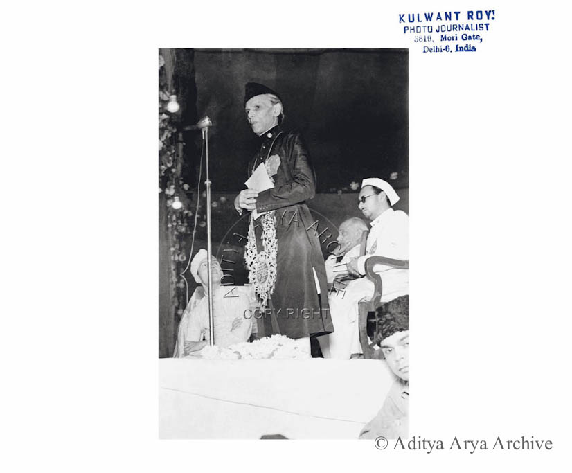 M.A. Jinnah. Undated