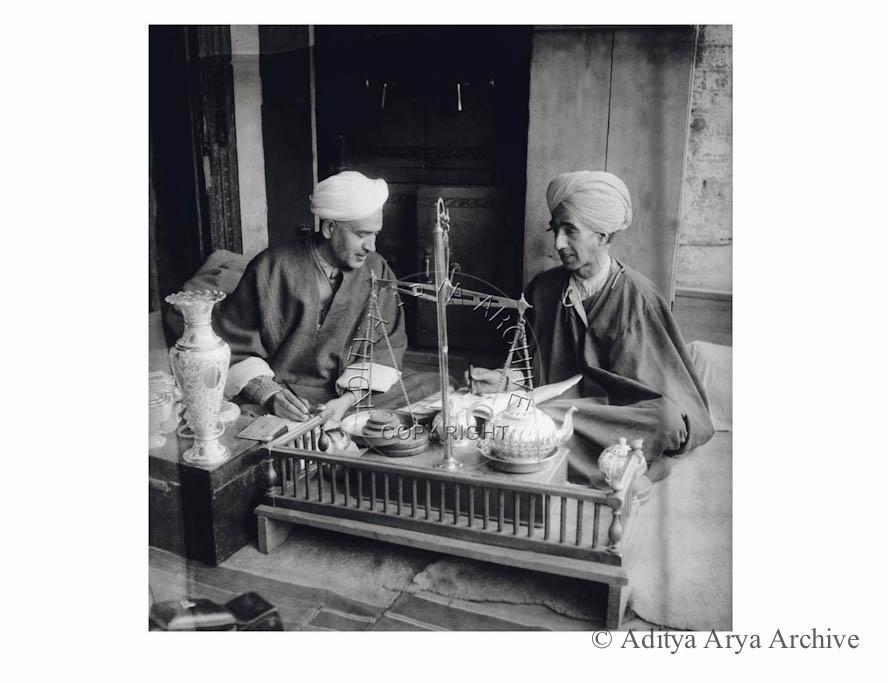 A Kashmiri trader. 1950s
