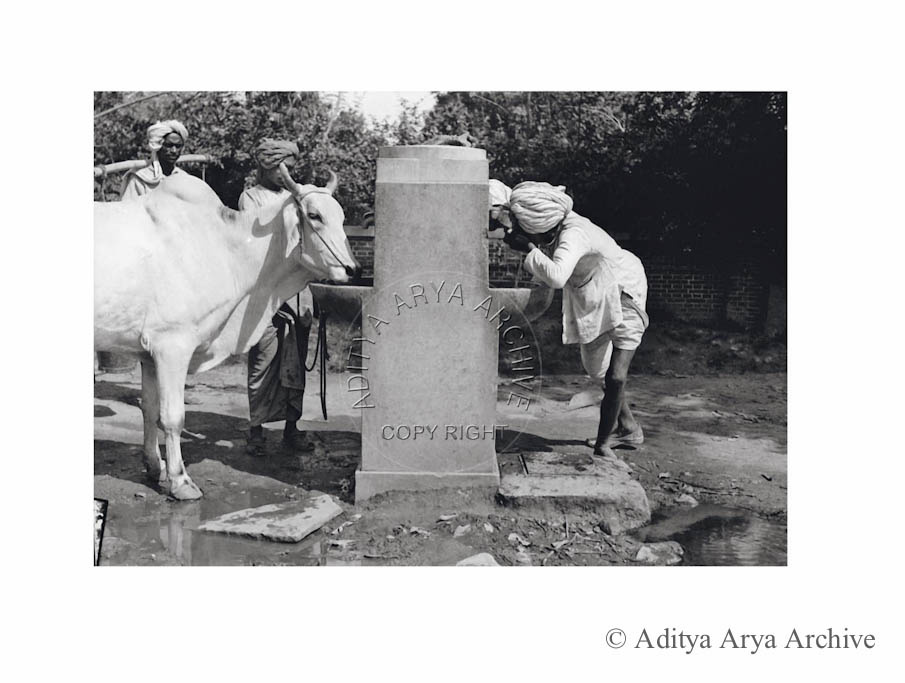 Quenching thirst, New Delhi.1950