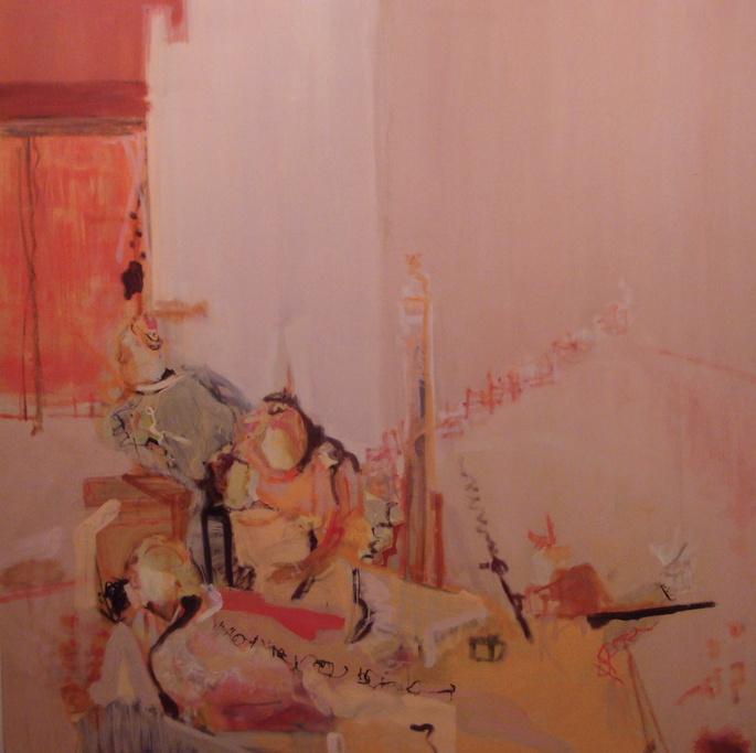 "48""x48""       oil on linen             pink ladies                     2010"