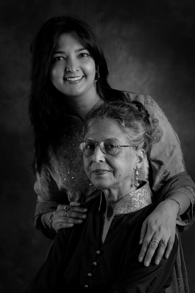 Priti Sood and her Mom, Renu Sud.