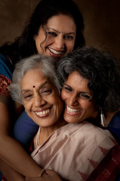 Vani Subramanian and Lalita Dileep. And their Mom, Meena Subramanian.