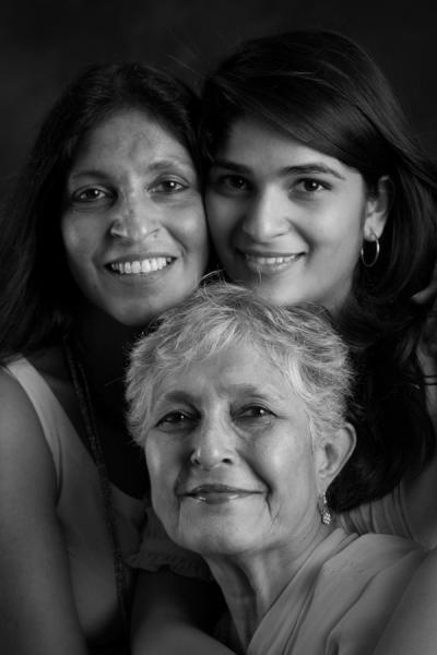 Gopika & Sitara Chowfla. And Gopi's Mom, Ms Rekha Khakhar.