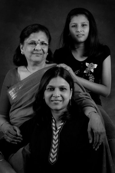 Arti and Damini Jaiman and Manju Vaish