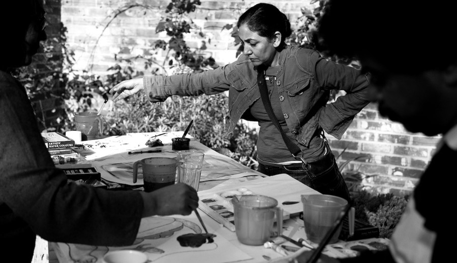 Deepti Naval. Actor and Artist.