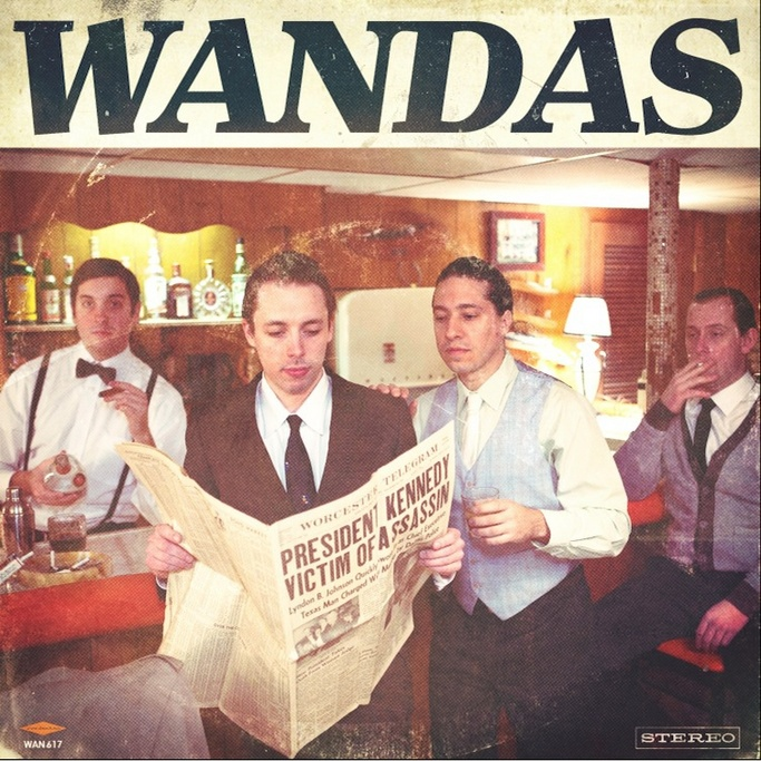 The New Wandas CD Cover