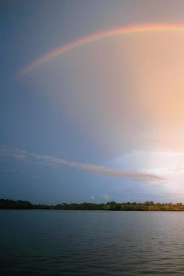 rainbow, sarawak, borneo, 2008