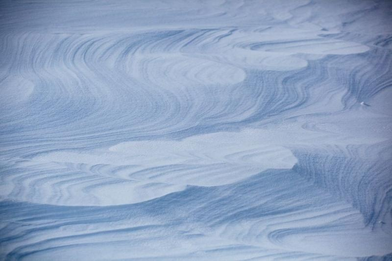 snow patterns, franz josef glacier, new zealand, 2010