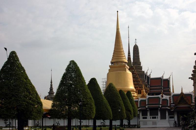 grand palace, bangkok, 2008