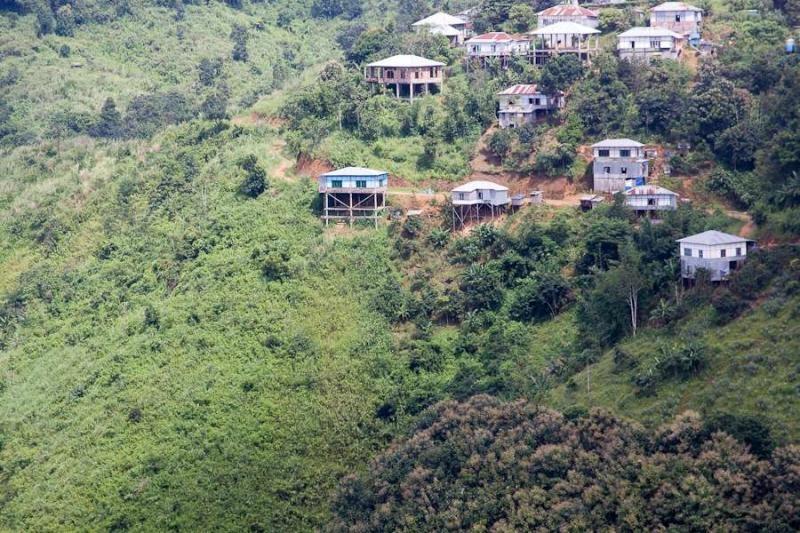 mizo village, mizoram, 2010