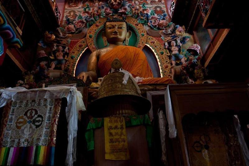tawang monastery, arunachal, 2010