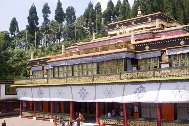 rumtek monastery, sikkim, 2010