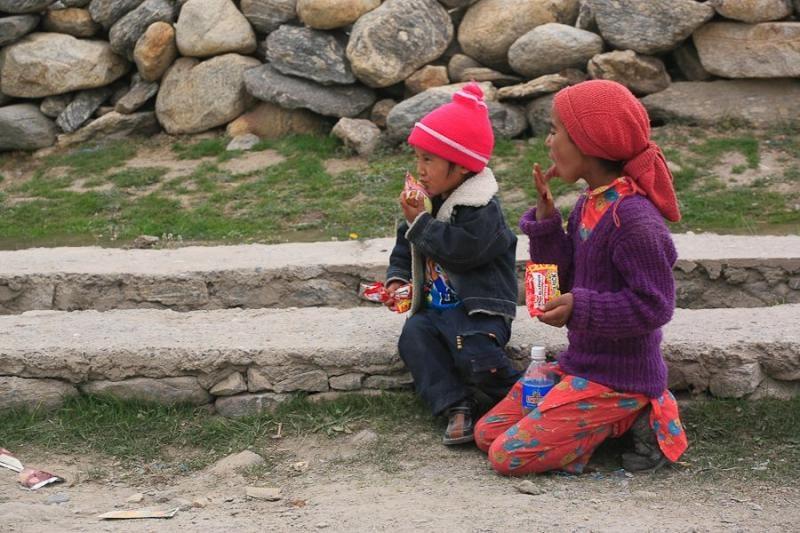ladakhi children, padum, 2006