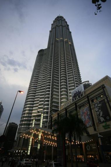 petronas tower, kl, 2008