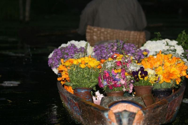 floating market, srinagar, 2008