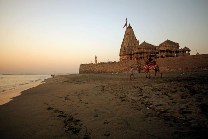 somnath temple, gujarat, 2007