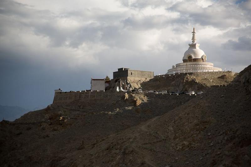shanti stupa, leh, 2008