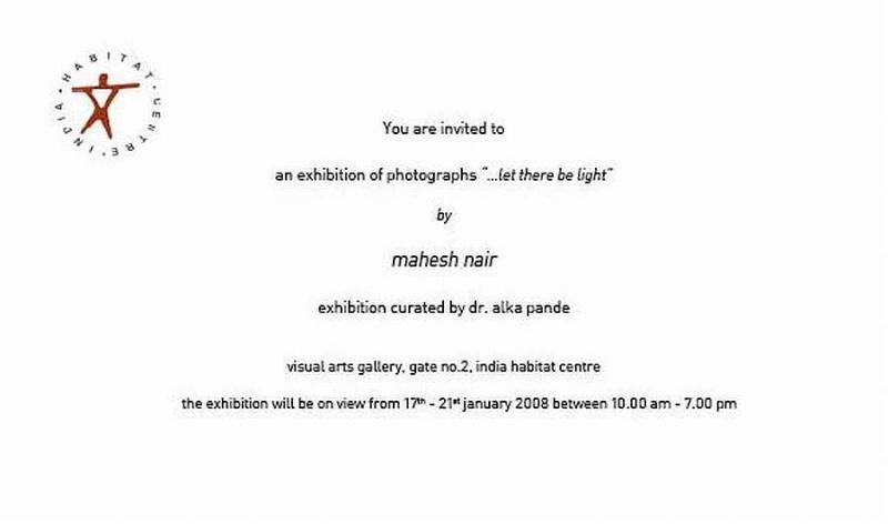 solo exhibition at ihc, new delhi, 2008